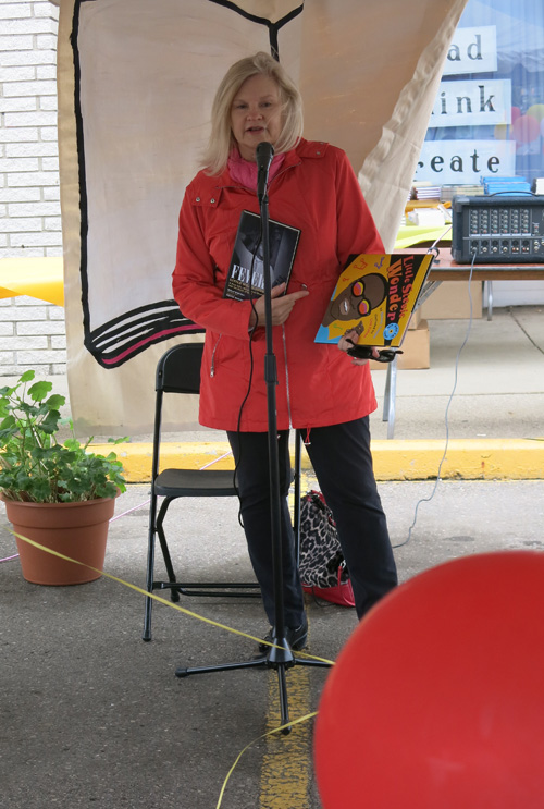 Susan Whitall reading
