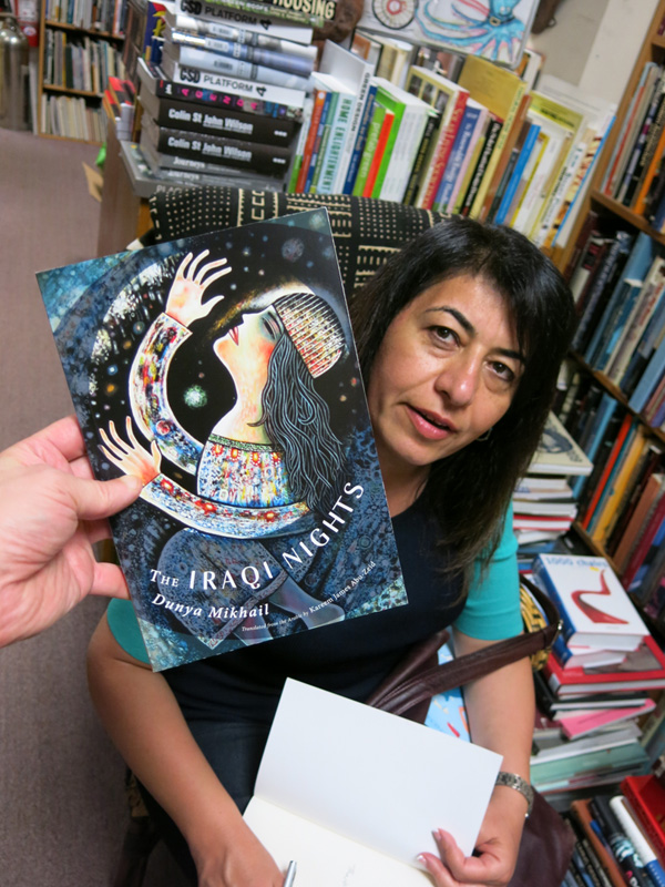 Poet Dunya Mikhail  Iraqi Nights at Book Beat
