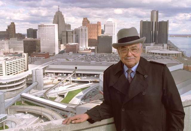 Detroit Mayor Coleman Young led the city from 1974-1994. / Tony Spina/Detroit Free Press