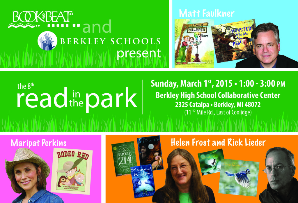 2015 Read in the Park Post Card