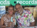 Authors Oneita Jackson and Christopher Paul Curtis.