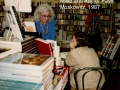 Faye Moskowitz first author signing