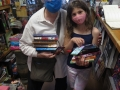 Book shopping spree