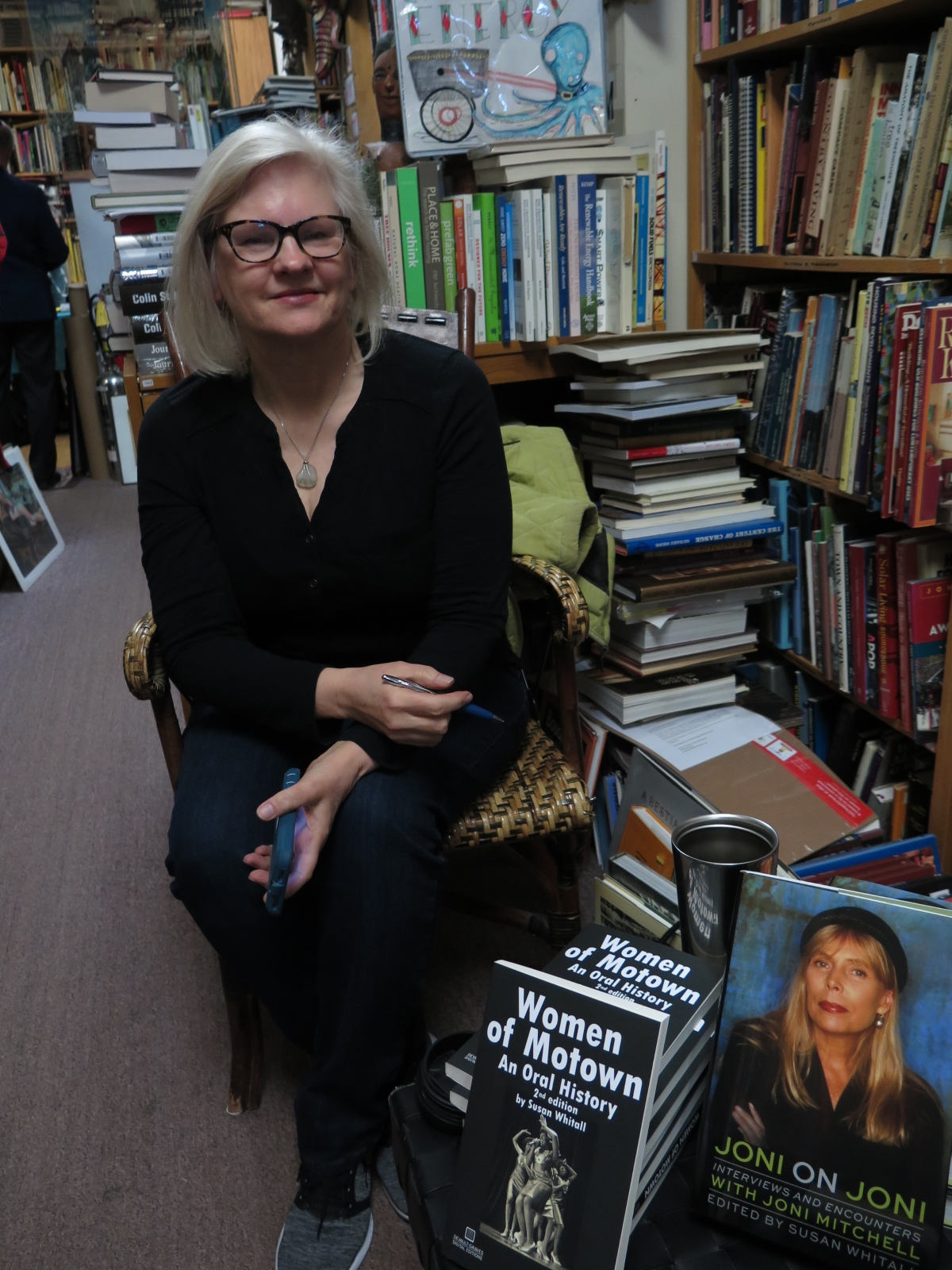 Author, Creem Magazine editor and Journalist Susan Whitall