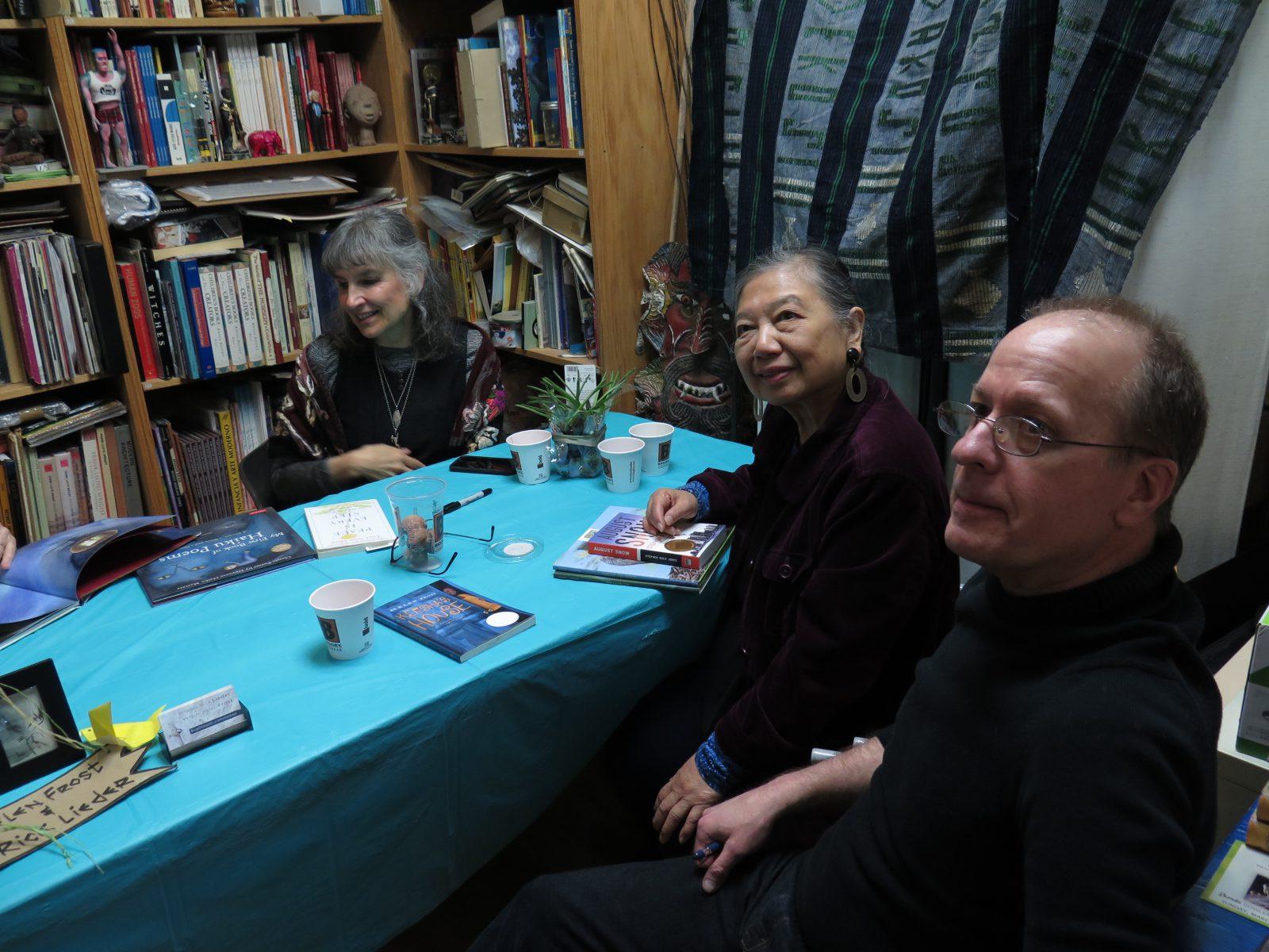 Tracy Gallup, Esperanza Ramirez-Christensen, Rick Lieder