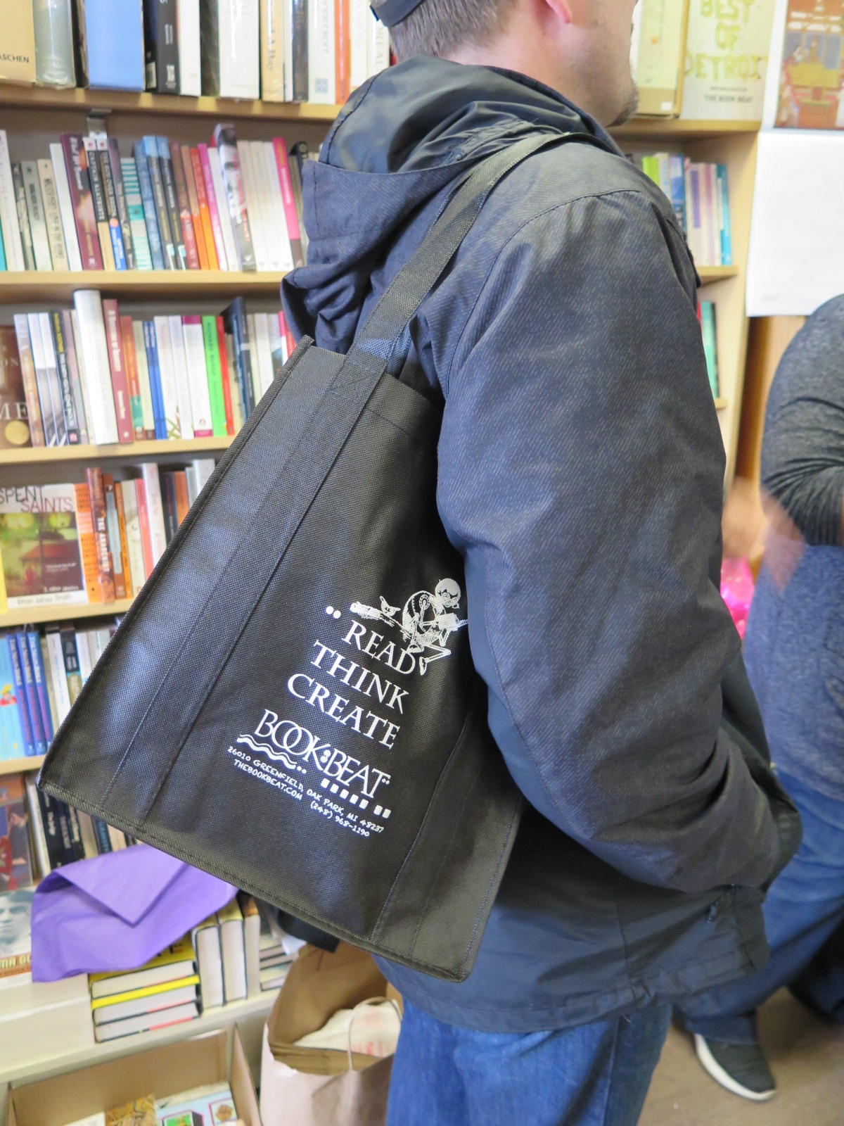 Book Beat swag-bag