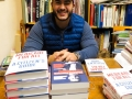 Dr. Abdul El-Sayed author of Medicare For All: A Citizen's Guide and Healing Politics: A Doctor's Journey into the Heart of Our Political Epidemic stopped by last Friday to sign books. We were pleased and grateful to partner with the Royal Oak Democratic club to help bring his ideas and books to our community. Signed copies are available.