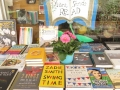 Outdoor sale book table!